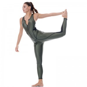 Dazzle High Power Studio Khaki Jumpsuit